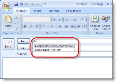 Address Book Outlook 2013 Not Available